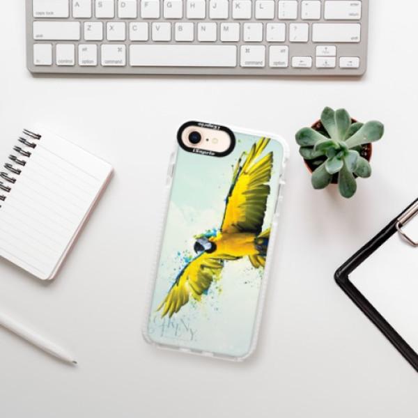 Silikonové pouzdro Bumper iSaprio - Born to Fly - iPhone 8