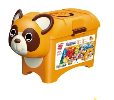 Qman Build N Learn 2906 Stavební box medvídek