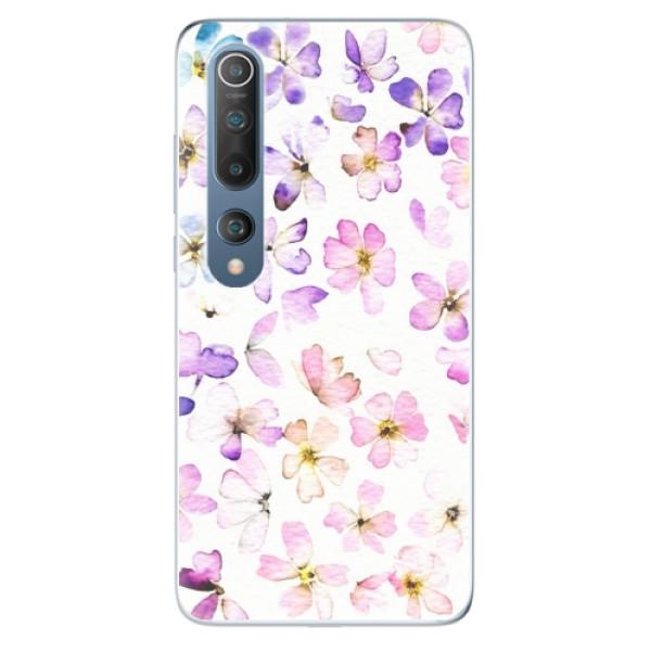 Odolné silikonové pouzdro iSaprio - Wildflowers - Xiaomi Mi 10 / Mi 10 Pro