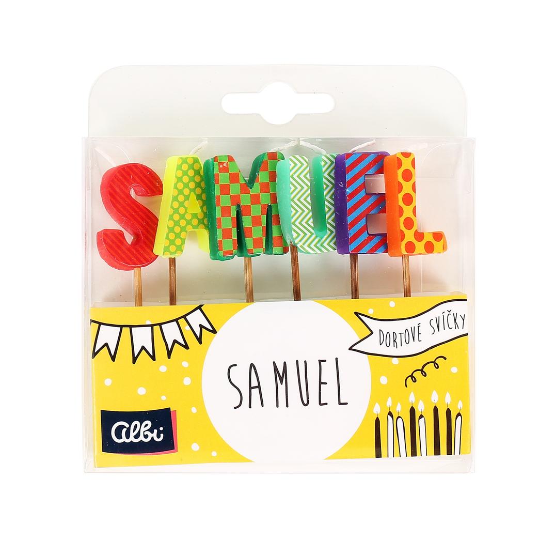 ALBI Dortová svíčka - Samuel