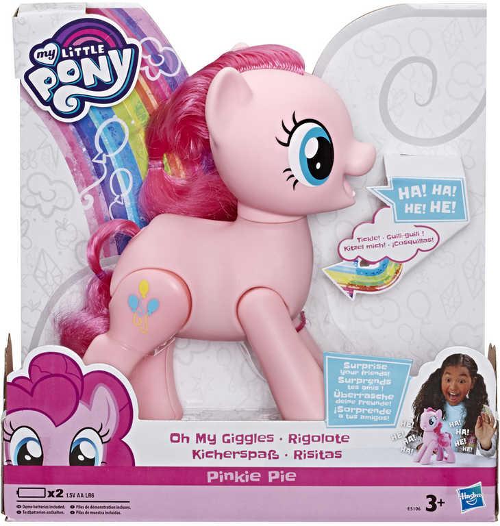 HASBRO Poník My Little Pony Pinkie Pie chichotající se na baterie Zvuk