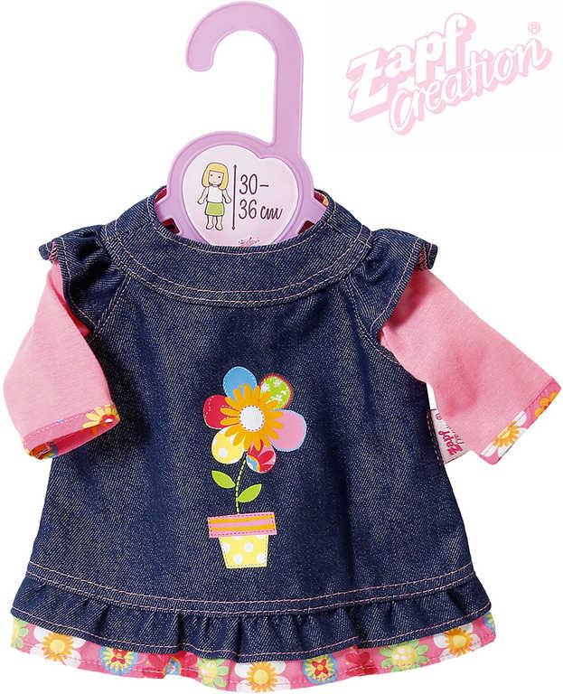 ZAPF CREATION Dolly Moda šatičky džínové pro panenku miminko 30-36cm