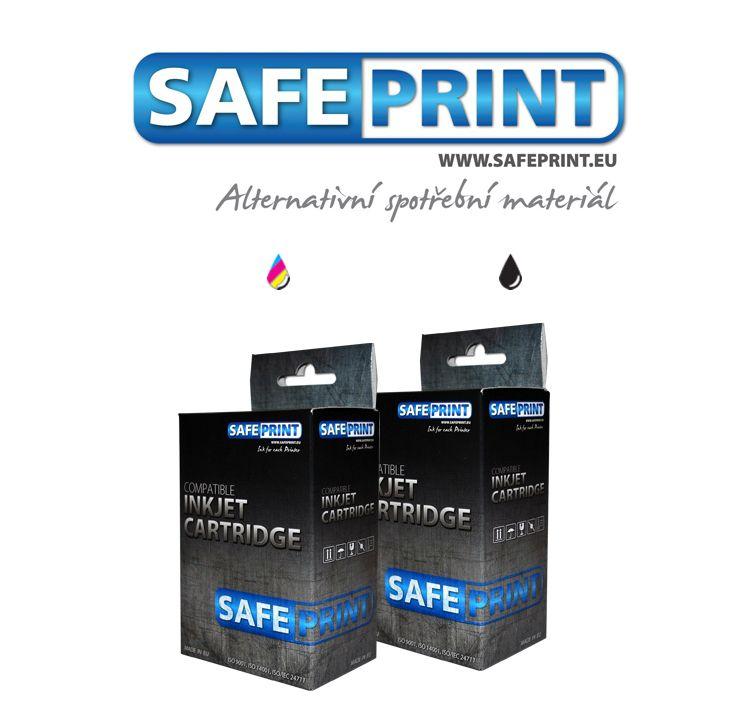 Inkoust Safeprint PG-512 + CL-513 MultiPack kompatibilní černý+barevný pro Canon (17ml+17m