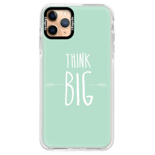 Silikonové pouzdro Bumper iSaprio - Think Big - iPhone 11 Pro Max