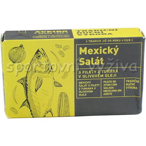 Mexický salát s filety z tuňáka 120g