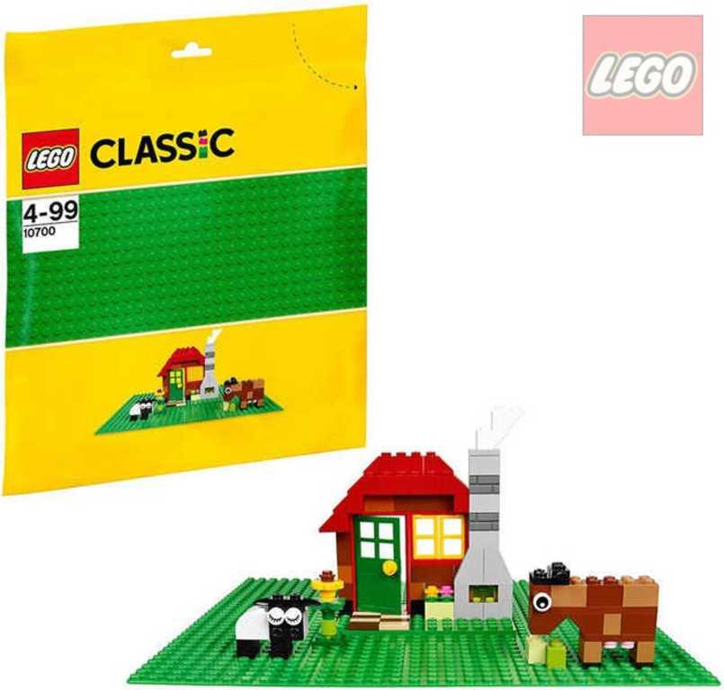 LEGO CLASSIC Podložka zelená ke stavebnicím 10700 26x26cm