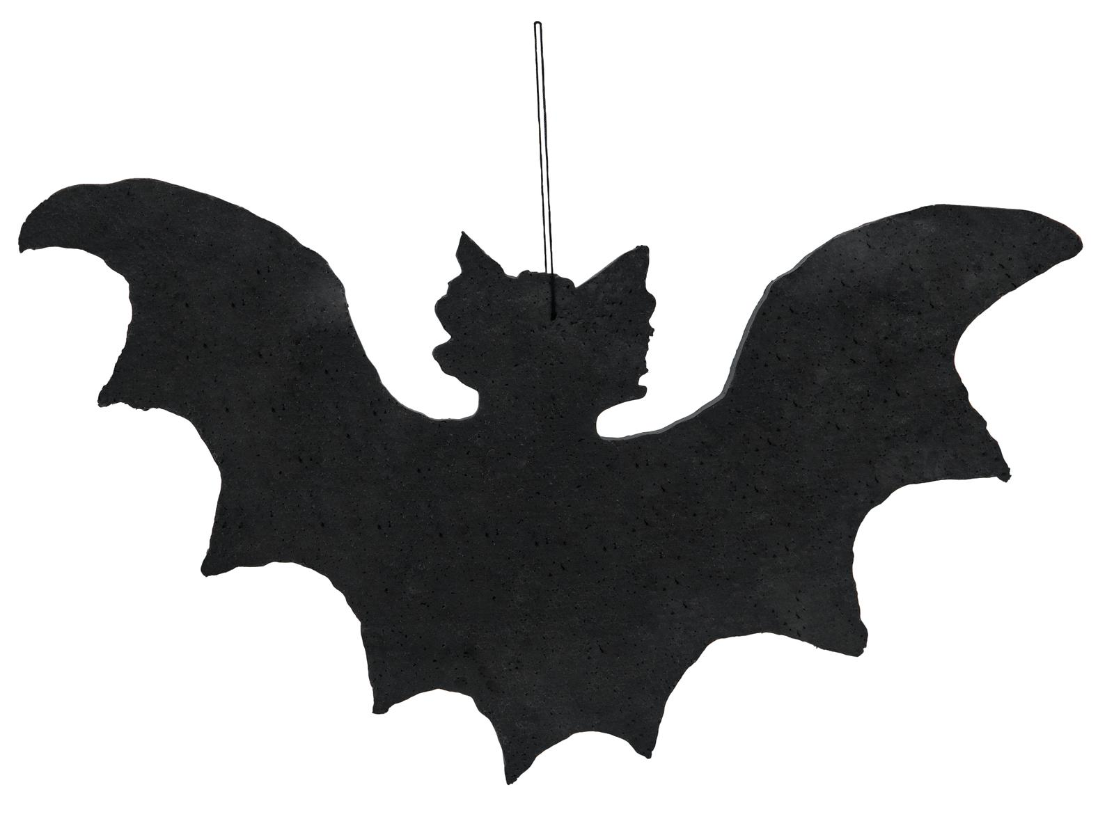 Halloween silueta netopýra, 32cm