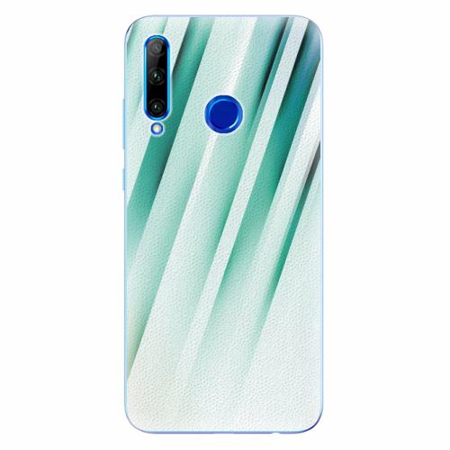 Silikonové pouzdro iSaprio - Stripes of Glass - Huawei Honor 20 Lite
