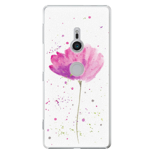 Plastové pouzdro iSaprio - Poppies - Sony Xperia XZ2