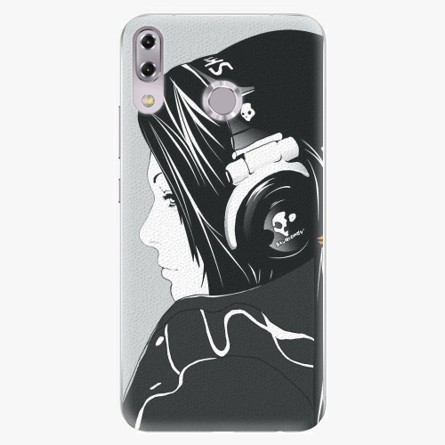 Plastový kryt iSaprio - Headphones - Asus ZenFone 5Z ZS620KL