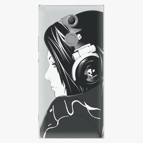 Plastový kryt iSaprio - Headphones - Sony Xperia XA2 Ultra