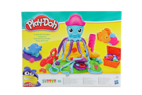 Play-Doh Potrhlá chobotnice TV 1.3. - 30.6.2018