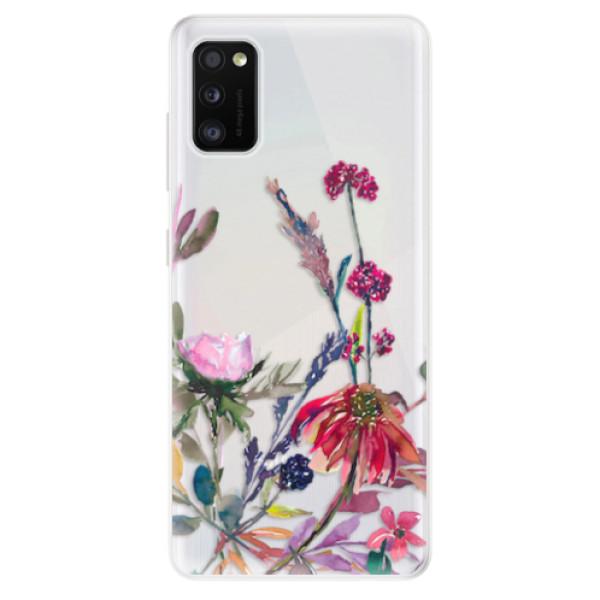 Odolné silikonové pouzdro iSaprio - Herbs 02 - Samsung Galaxy A41