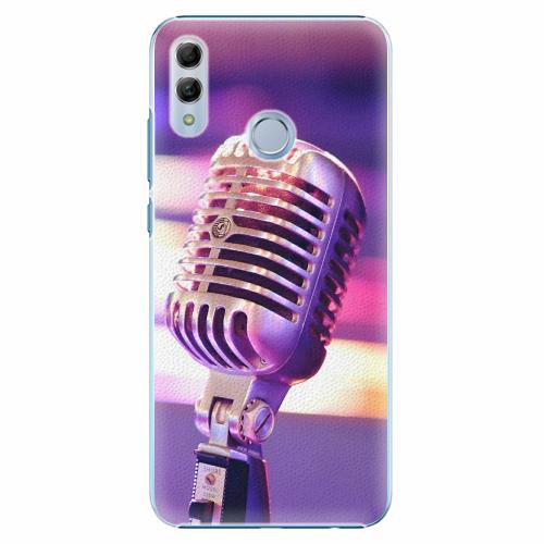 Plastový kryt iSaprio - Vintage Microphone - Huawei Honor 10 Lite