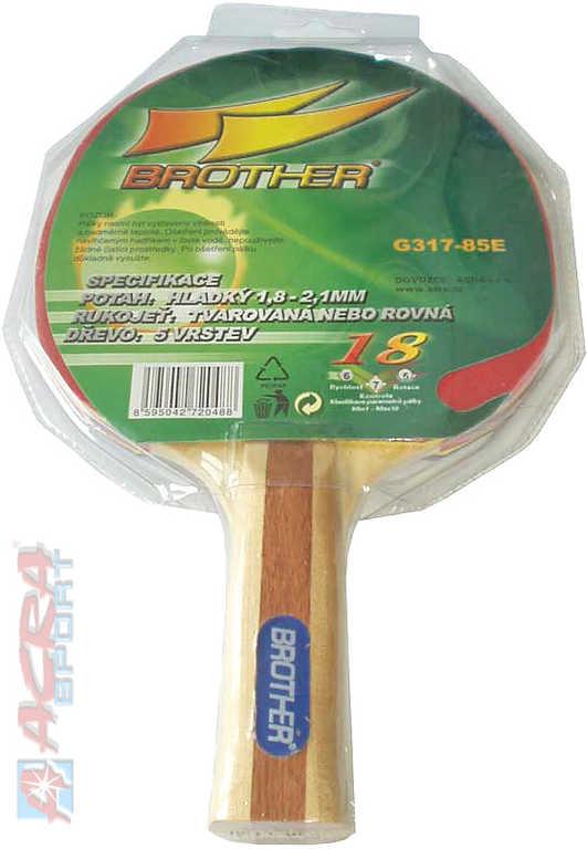 ACRA Pálka na pingpong Brother Victory G317-85E 3-star rekreační stolní tenis