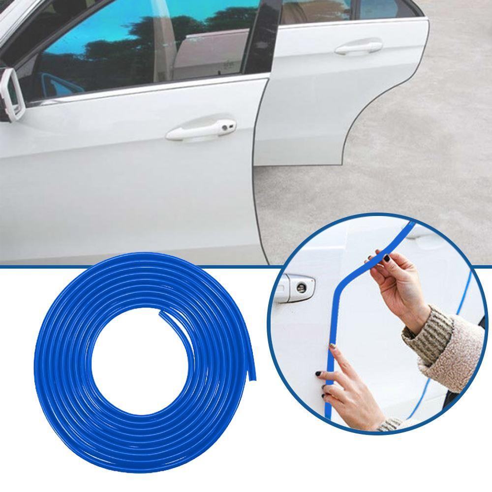 Ochranné lišty na auto 5 m - modré