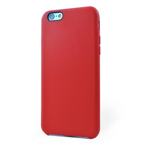 Pružný kryt iSaprio Jelly pro iPhone 6 / 6S červený