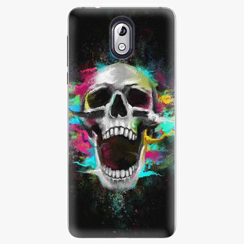 Plastový kryt iSaprio - Skull in Colors - Nokia 3.1