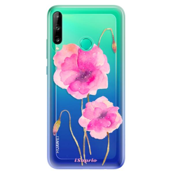 Odolné silikonové pouzdro iSaprio - Poppies 02 - Huawei P40 Lite E