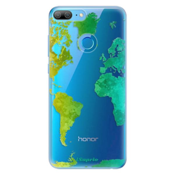Odolné silikonové pouzdro iSaprio - Cold Map - Huawei Honor 9 Lite