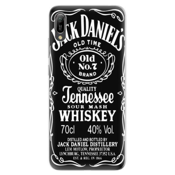 Odolné silikonové pouzdro iSaprio - Jack Daniels - Huawei Y6 2019