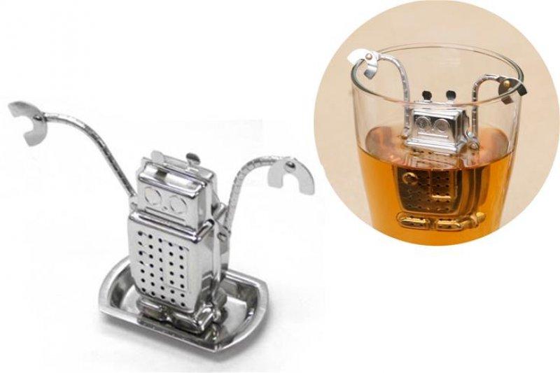 Sítko na čaj-robot