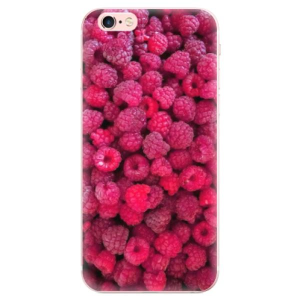 Odolné silikonové pouzdro iSaprio - Raspberry - iPhone 6 Plus/6S Plus