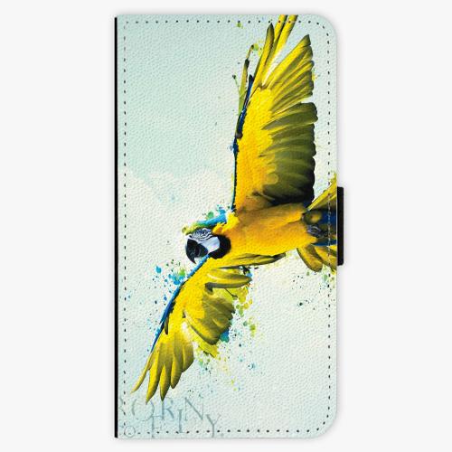 Flipové pouzdro iSaprio - Born to Fly - iPhone 5/5S/SE