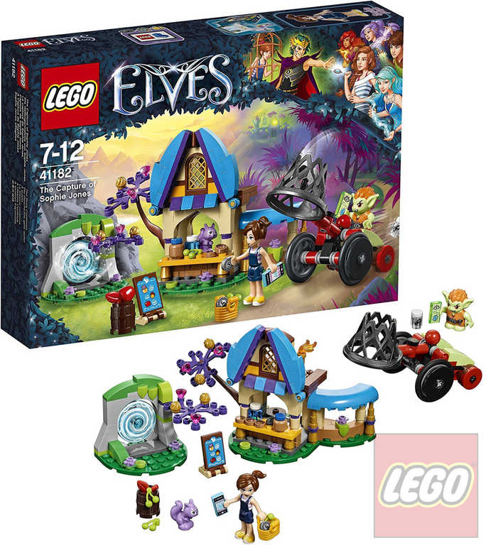 LEGO ELVES Zajmutí Sofie Jonesové 41182