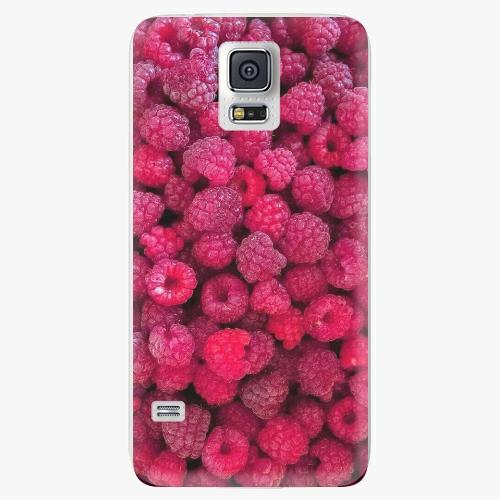 Plastový kryt iSaprio - Raspberry - Samsung Galaxy S5