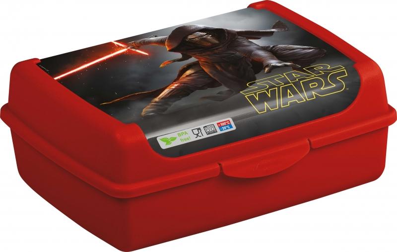 Svačinkový box Star Wars 1 l - červený