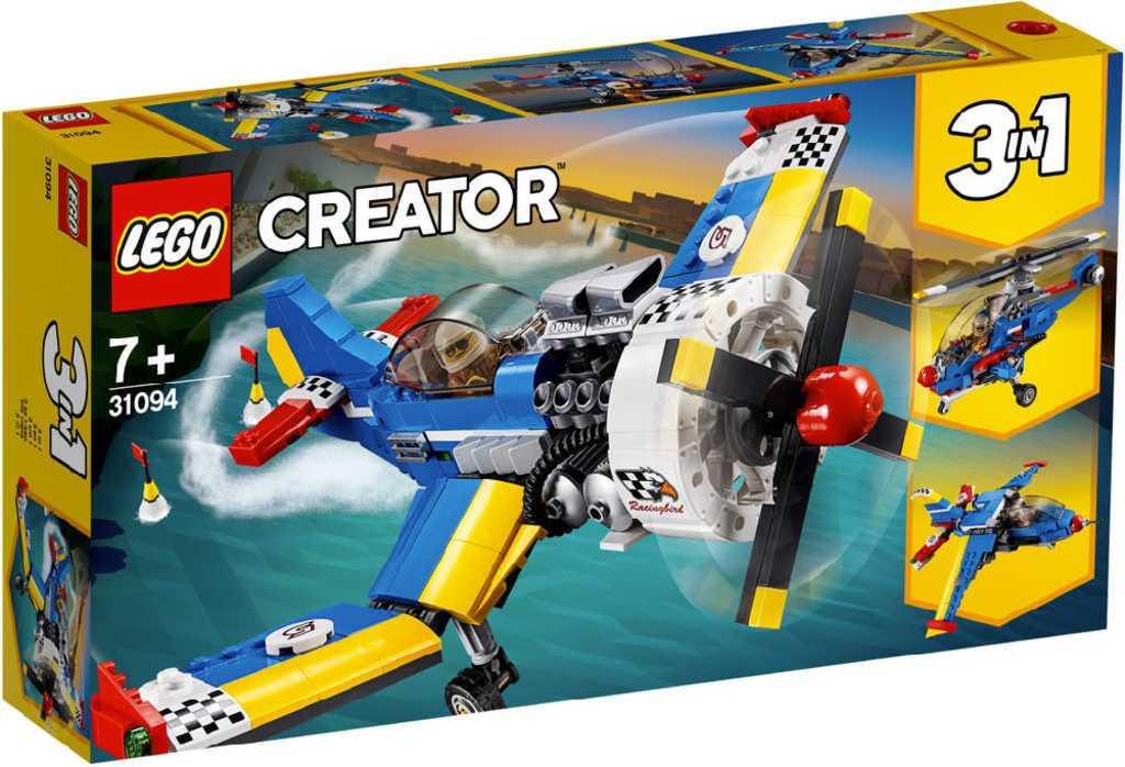 LEGO CREATOR Letadlo závodní 3v1 31094