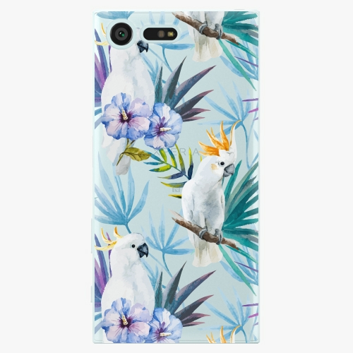 Plastový kryt iSaprio - Parrot Pattern 01 - Sony Xperia X Compact
