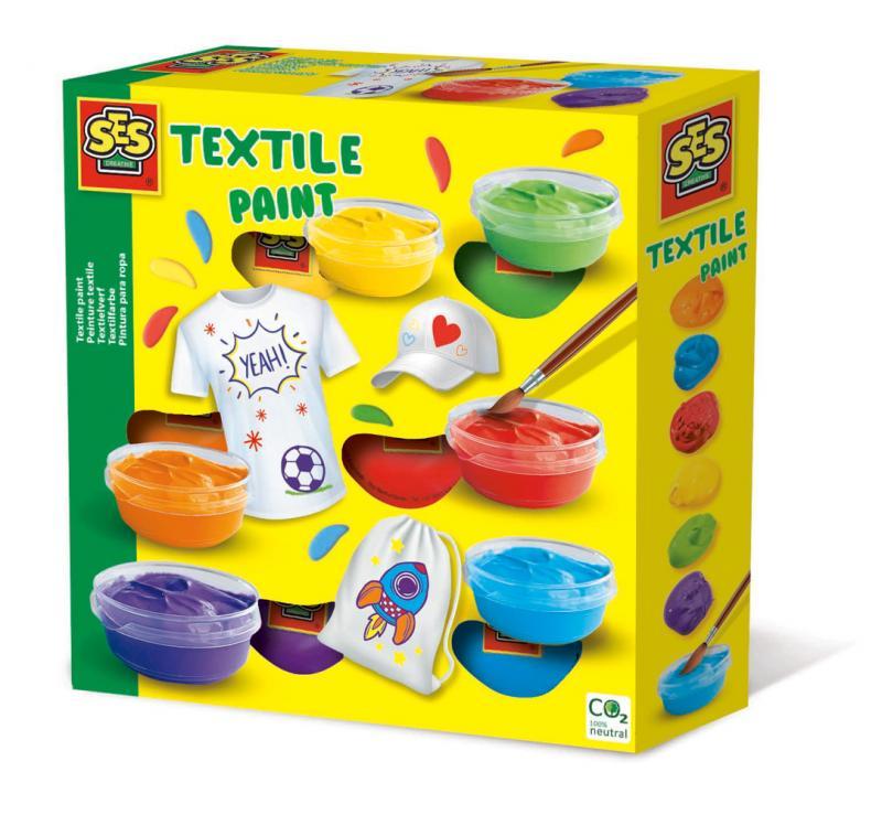 Barvy na textil, 6 barev