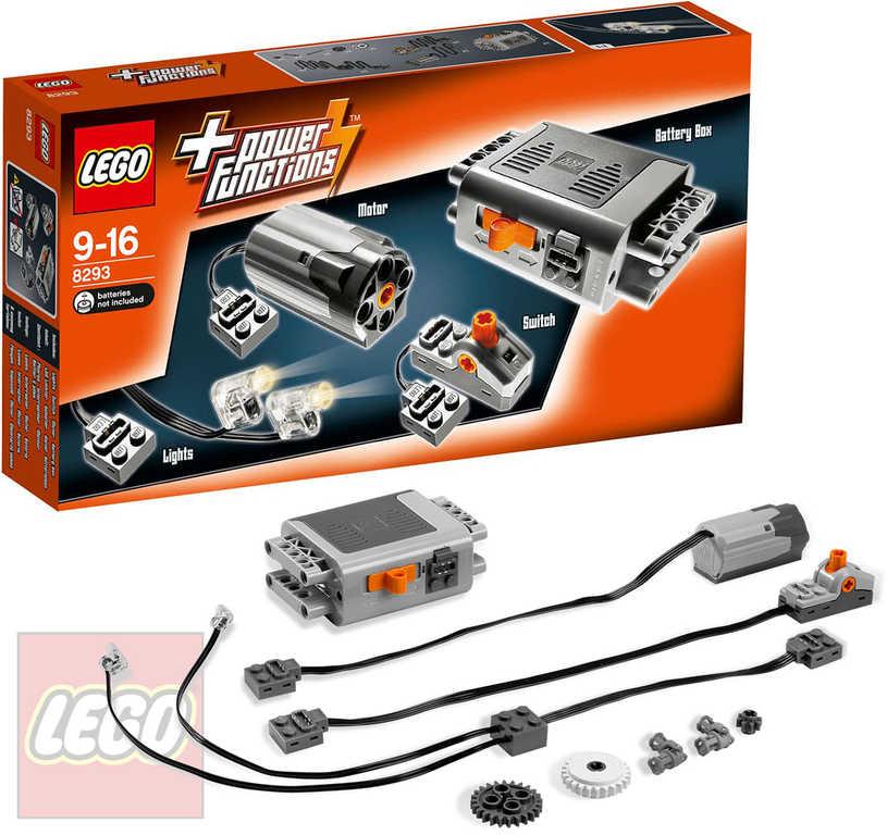 LEGO TECHNIC Motorová doplňková sada Power Functions STAVEBNICE 8293