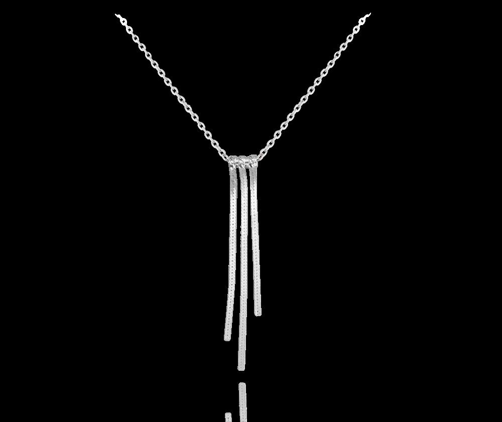 Luxusní stříbrný řetízkový náhrdelník MINET