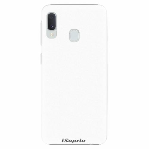 Plastový kryt iSaprio - 4Pure - bílý - Samsung Galaxy A20e