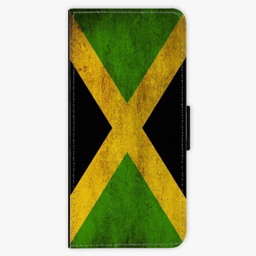 Flipové pouzdro iSaprio - Flag of Jamaica - Samsung Galaxy S8 Plus