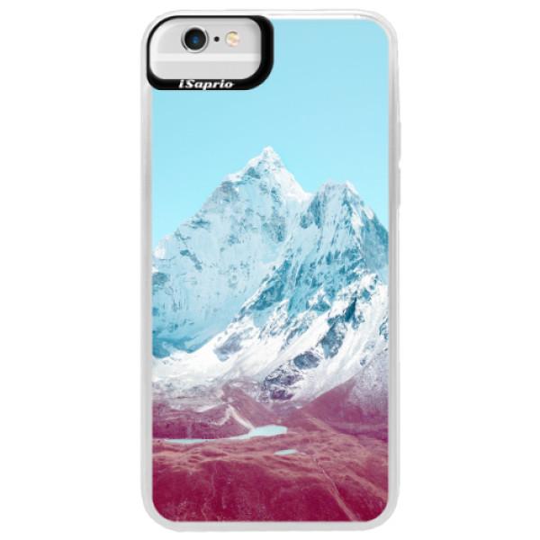 Neonové pouzdro Blue iSaprio - Highest Mountains 01 - iPhone 6 Plus/6S Plus