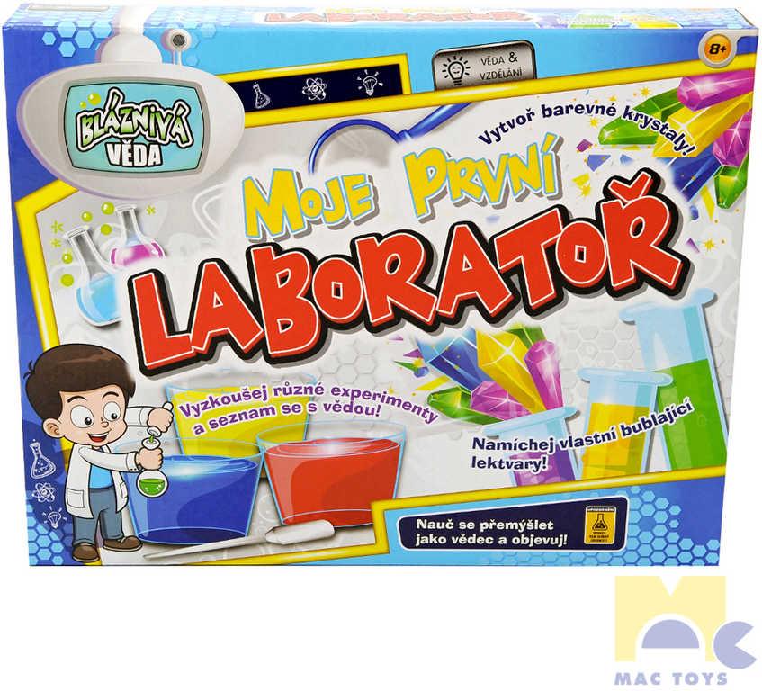 MAC TOYS Moje první laboratoř dětská vědecká sada v krabici