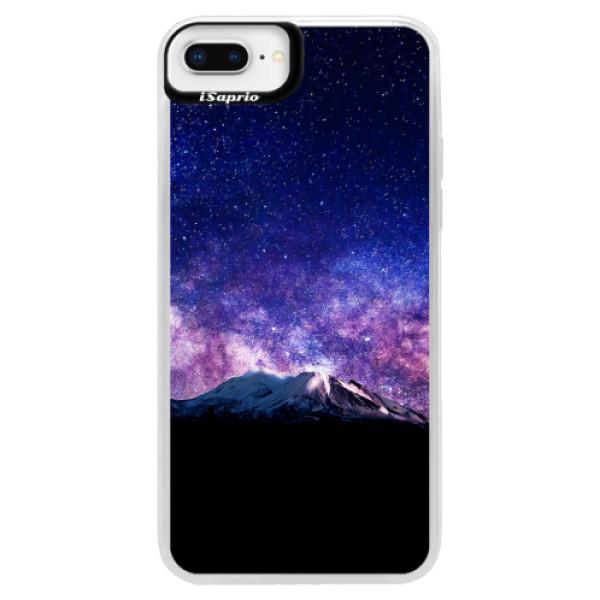 Neonové pouzdro Blue iSaprio - Milky Way - iPhone 8 Plus
