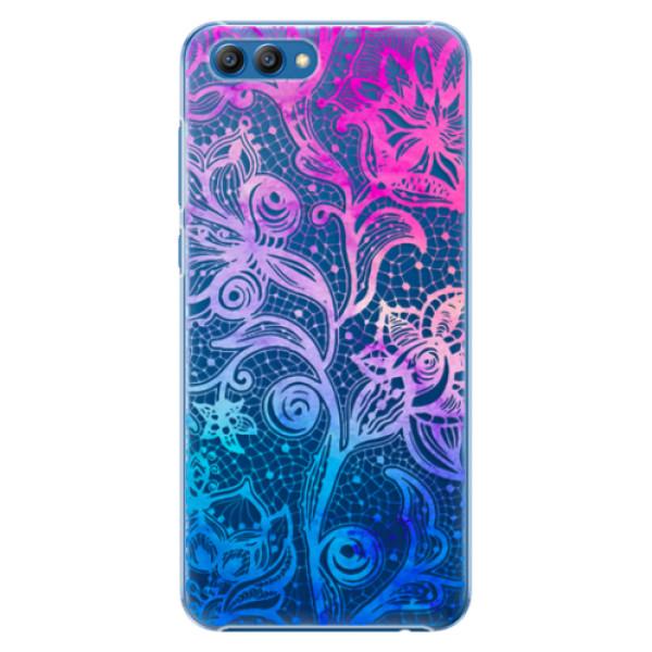 Plastové pouzdro iSaprio - Color Lace - Huawei Honor View 10