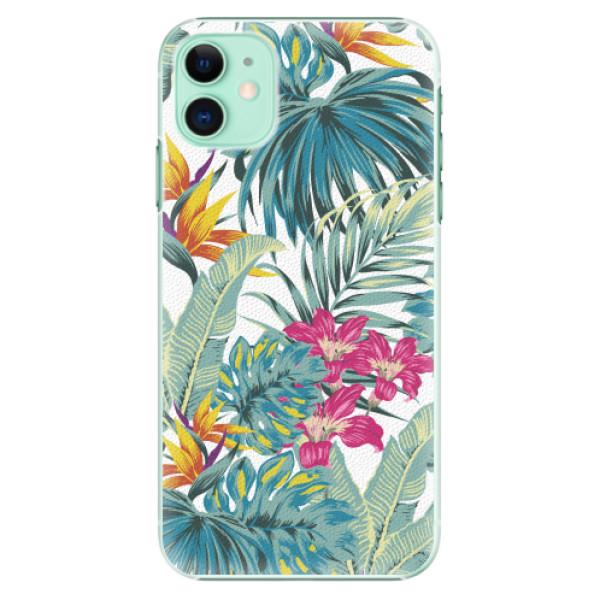 Plastové pouzdro iSaprio - Tropical White 03 - iPhone 11