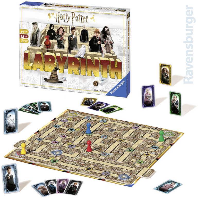 RAVENSBURGER Hra Labyrinth Harry Potter *SPOLEČENSKÉ HRY*
