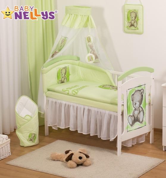 Šifónová nebesa Sweet Dreams by TEDDY - zelené/bílé