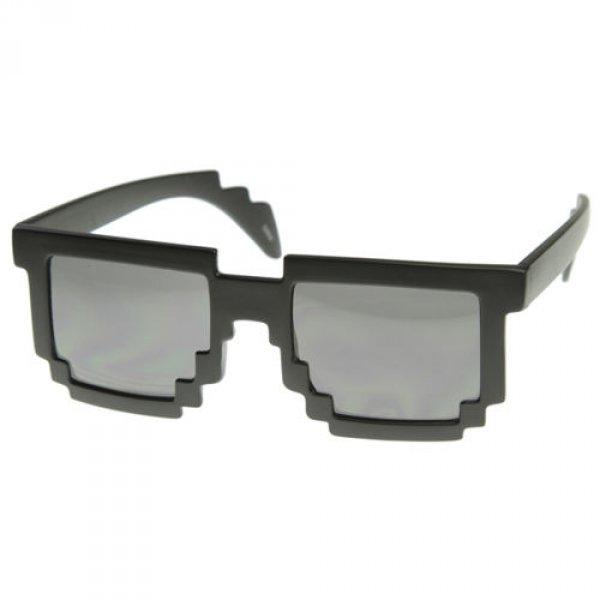 Brýle pixel - černé