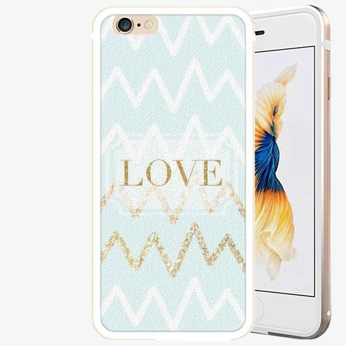 Plastový kryt iSaprio - GoldLove - iPhone 6/6S - Gold
