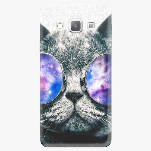 Plastový kryt iSaprio - Galaxy Cat - Samsung Galaxy A3