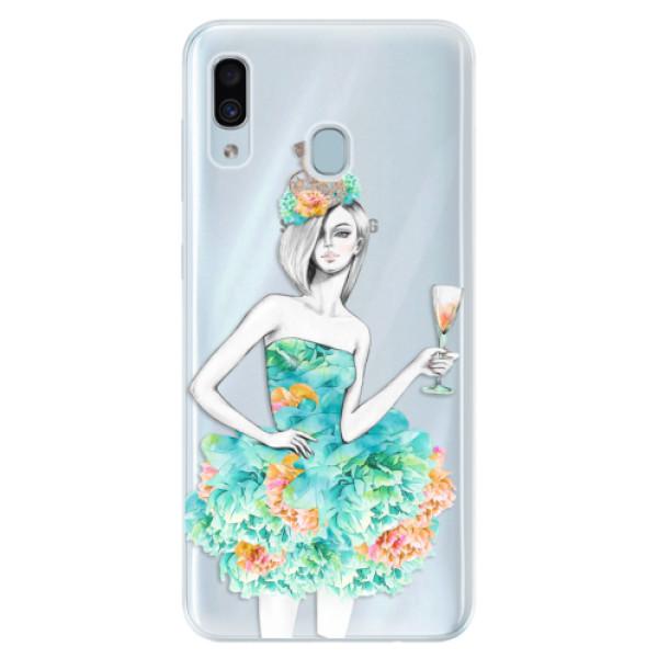Silikonové pouzdro iSaprio - Queen of Parties - Samsung Galaxy A30