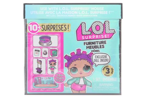 L.O.L. Surprise! Nábytek s panenkou - Bruslařský park & Roller S